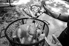 Sensibilidad de la quietud V (Henry Moncrieff) Tags: streetart abstract art blancoynegro monocromo arte venezuela performance streetphotography ciudad monochromatic fran basura meditation abstracto cultura reciclaje venezolanos artphotography monocromtico quietud meditacin fotografiadocumental artecorporal desechos fotografadocumental artesescenicas fotografacallejera abbatemarco