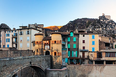 Medieval France (Nomadic Vision Photography) Tags: winter france castle fairytale citadel provence entrevaux historicalarchitecture medievalvillage jonreid tinareid rivervar nomadicvisioncom