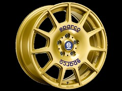 Sparco Terra Gold (OZ WHEELS) Tags: wheel oz wheels rim sparco ozwheels