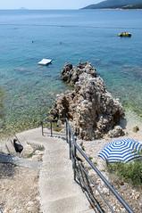 010_Flickr Urlaub.jpg (stefan.mohme) Tags: strand meer treppe aussicht felsen bucht kueste kroatien kies istrien organisch ausblicke kroatien2012