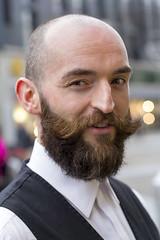 Stranger #118 (Zo0Bear) Tags: street portrait man fashion hair beard store sale leeds style online facial humans hol