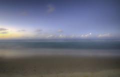 Washed Out (Dame Beau) Tags: longexposure blue sunset seascape colour beach water landscape seaside nikon sigma australia qld queensland hdr sigma1020 d7000 nikond7000