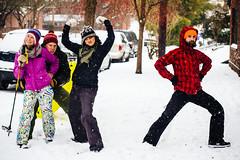 Snowpocalypse Portland 2014