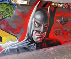 The Dark Gnash Rises ('gnasher') Tags: urban streetart graffiti norwich batman dccomics spraycanart gnasher thebat thedarkknight