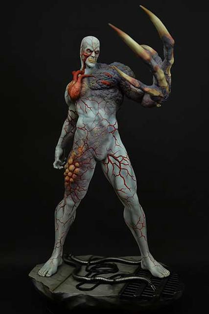 惡靈古堡經典魔王「暴君」雕像推薦
