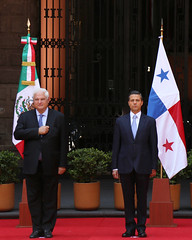 Visita Oficial del Sr. Ricardo Martinelli Berrocal, Presidente de la República de Panamá.