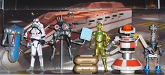 Disney Star Wars Battle Packs (Darth Ray) Tags: sky trooper star battle disney pack spy imperial g2 wars tours signal seeker exclusive droid c3po rx hasbro packs