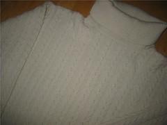 Soft cabled wool turtleneck (Mytwist) Tags: wool sweater craft jumper turtleneck knitted pullover rollneck rollkragen warginnan