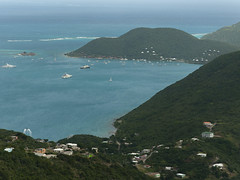 View of Bitter End and Saba Rock - Virgin Gorda BVI