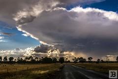 Clouds (Joel Bramley) Tags: landsape weather road bendigo nature country rural