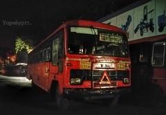 Digras - Nagpur (yogeshyp) Tags: msrtc msrtcparivartanbus maharashtrastatetransport digrasnagpurstbus digrasdepotbus