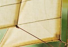 Segel ~ Sails (FrauN.ausD.) Tags: segel sail segelboot boat macromonday flickrfriday knoten knots gegenlicht backlight makro takelage rig cloth stoff stuktur miniatur