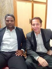 Rohid Ali Khan and Shaz Ali music director (Rohid Ali Khan) Tags: rohid ali khan maproductions mapro zara malik adhoorey khuwaab shahid sheikh khalid butt romantic song pehli muhabbat khanpur dam pakistani actor bollywood insight movie