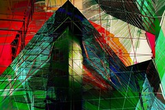 In The Journey (Kevin Quinn Art) Tags: architecture contemporary art atl atlanta nikon gallery abstract color geometric lines passion graphic graphics artists digital city urban new