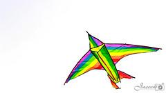 A Kite @ Riyadh City (Jaseem Hamza Photography) Tags: kite color raibow red super fly high canon 700d dslr riyadh saudi arabia friday