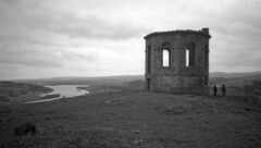 Semple and Blair (wheehamx) Tags: castle semple dlair af10 olympus 35mm