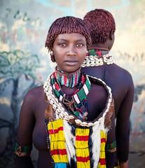 Etiopia (mokyphotography) Tags: africa etiopia southetiopia tribù tribe tribal ethnicity ethnicgroup etnie hamer people portrait persone girls ragazze women valledellomo villaggio village omovalley omoriver omo