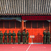 2016 - China - Beijing - Forbidden City - Uniform Line up
