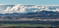 Edge of the Owyhee Mountain Range, Idaho (maytag97) Tags: maytag97 tamron 150 600 cloud sky landscape vista owyhee mountain range idaho blue rural nikon d750
