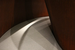 Dark Curves and Shadows (JB by the Sea) Tags: sanfrancisco california february2017 sanfranciscomuseumofmodernart sfmoma financialdistrict richardserra sequence publicart