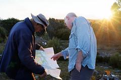 20170228-09-Discussing route (Roger T Wong) Tags: australia greatpinetier np nationalpark sel1635z sony1635 sonya7ii sonyalpha7ii sonyfe1635mmf4zaosscarlzeissvariotessart sonyilce7m2 tasmania wha wallsofjerusalem worldheritagearea bushwalk camp hike hikers map trektramp walk
