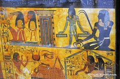 Ancient Deities (konde) Tags: tt1 deirelmedina sennedjem khonsu ancient 19thdynasty newkingdom coffin sarcophagus deities art hieroglyphs