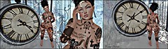 Peanut Buttah :: Nothing Ventured Nothing Gained (stylizedchaos) Tags: limpid bodyfy urbanstreet damselfly lepunk bubble chapter4 c4 gid suicidedollz sd tattoos hair slblogger slevents secondlife fashion nipplecovers choker earrings eyeliner