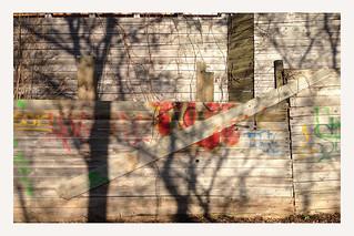 Frühling an der Wand