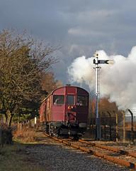 Railmotor (Treflyn) Tags: gwr steam rail motor number 93 trailer 92 demonstration line didcot railway centre