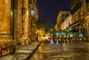 Una Noche en la Havana (Merly_gon) Tags: noche nochedelluvia cielo larga exposicion osamenor estrellas amarillos sony ilce7 calle street streetphoto nigth sky luces light