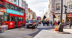 Oxford Circus - Daytime Long Exposure (Anatoleya) Tags: anatoleya london sony a6500 hdr city urban street longexposure daytime afternoon shopping shoppers