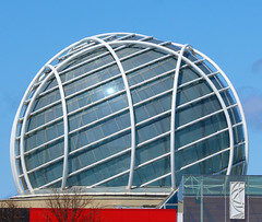 Glass Dome (jmaxtours) Tags: dome glassdome mississauga mississaugaontario glass architecture