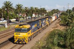 2017-03-13 Pacific National NR62-NR32-9305 Waratah 2SB1 (deanoj305) Tags: nr62 nr32 9305 pacific national intermodal container train 2sb1 waratah newsouthwales australia au