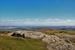 View from the top of Haytor (Karen Warren1) Tags: dartmoor rockformation rocks landscape scenery view walk1000miles2017 walk1000miles worldinneedwalkersimplesitecom