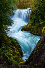 Trapped Spirit (Ryan Engstrom Photography) Tags: waterfall spirit falls washington columbia river gorge spring nikon d810 adventure hike travel pacific north west explore