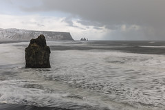 Stormy seas at Reynisfjara (Tony Balmforth) Tags: stormy seas reynisfjara winter basalt rock formations angry waves blustery day sea stack long exposure iceland tony balmforth