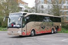 Gibbons BN17 JBV (johnmorris13) Tags: gibbons bn17jbv mercedes tourismo coach