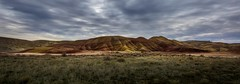 Painted Hills Unit or John Day (Mstraite) Tags: paint hills nature landscape clouds national nationalmonument oregon john day rocks mountain color vibrant explore canon panorama adventure subaru cat