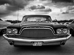 Desoto (macrobernd) Tags: oldtimer münchen treff classic car theresienwiese munich sw blackwhite fuji gfx mamiya645sekor45mmf28 auto monochrome monochrom
