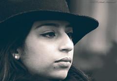 Portrait (Natali Antonovich) Tags: portrait sweetbrussels brussels belgium belgique belgie grandplace reverie hat hats hatisalwaysfashionable monochrome tradition lifestyle