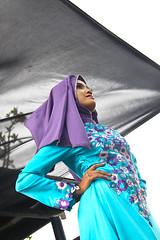 Hijab Collection (vitaraman) Tags: hijab nomina model competition 2017 klink tower garden