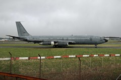 Boeing 707   295 (TF102A) Tags: aviation aircraft prestwick boeing boeing707 israeliairforce