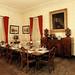postcard - Oatlands Plantation, dining room