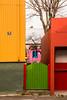 Garish Colours of Reykjavik Buildings