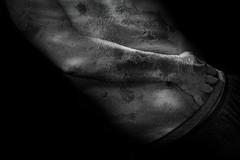 Sensitive Skin. (Gr⊙f: ⊙f the p⊙p) Tags: body bw portrait self hand arms sensual artistcom