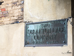 Main Office (rond-photography@sbcglobal.net) Tags: scranton lace factory abaondoned sign headquarters office pennsylvania old lost