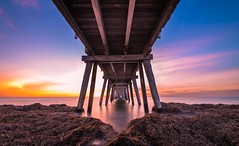 Under Largs 18.4.17 (Nathan Godwin) Tags: sunsetphotography sunset sunsetporn sunsets sunsetseascape adelaide adelaidephotographer adelaidebeaches southaustralia southaustralianbeaches nikon nikonphotography longexpo longexposure color seascape
