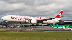 HB-JNA (Noel Williams ✈) Tags: hbjna boeing b777 swiss airport avgeek airline aircraft dublin dub