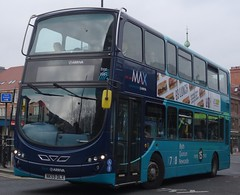 Newcastle (Andrew Stopford) Tags: nk59dlx vdl db300 wright 2dl eclipse arriva max newcastleupontyne