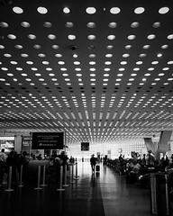 Daydreaming (Mister Blur) Tags: thelighttraveler wetravel airport t2 aicm méxico terminal blackandwhite bw blancoynegro aeropuerto daydreaming radiohead iphone se iphoneography